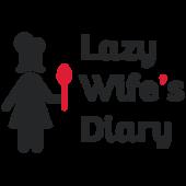 Логотип кулинарного проекта lazy wife