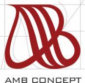 Разра ботка логотипа AMB Concept