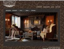Разработка сайта Eclettico.ru