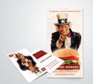 Рекламный флаер Corner Burger