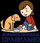 "Лого для сайта ""Кормите питомца правильно"""