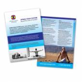 Дизайн листовки Apnea Yoga System