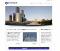 Разработка сайта Mira Group